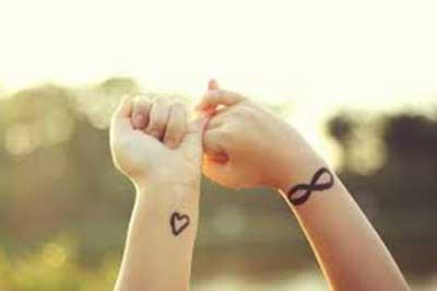 dicas de tatuagens de amor
