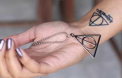 Tatuagens Do Filme Harry Potter Significados E Desenhos