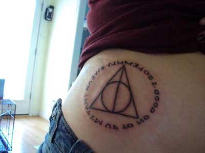 imagens de tatuagens do harry potter