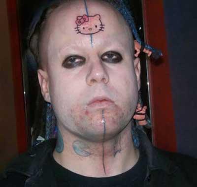 tattoos bizarras
