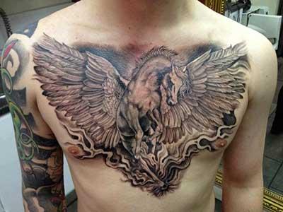 tatuagens de animais mitológicos