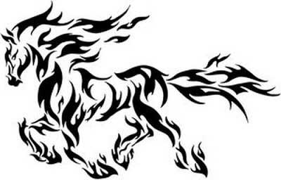 cavalo de fogo alado