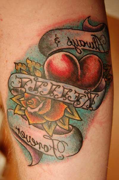 dicas de tattoos de amor