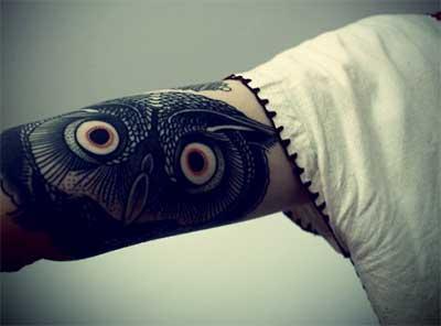 coruja pretinha