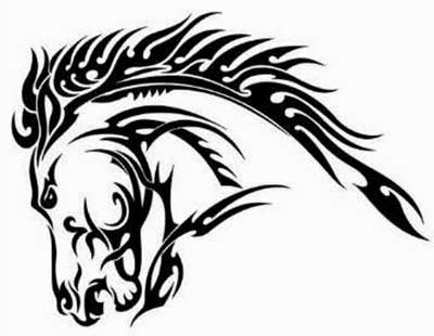 tatuagens tribais de animais