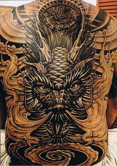 fotos de tatuagens de animais mitológicos