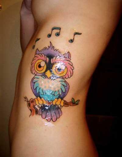 significados de tatuagens de coruja