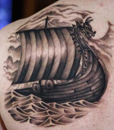fotos de tatuagens vikings