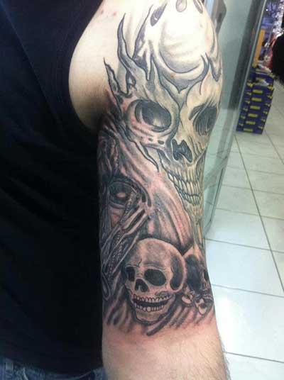 sugestões de tatuagens sombreadas