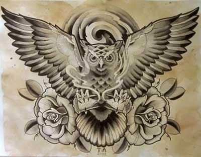 40 Tatuagens De Coruja Masculinas E Femininas Significados