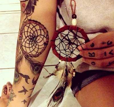 desenhos de tatuagens indígenas