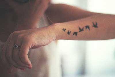 tattoos simples em fotos