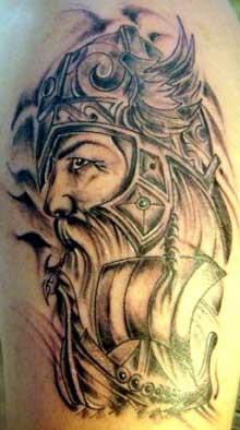 sugestões de tatuagens vikings