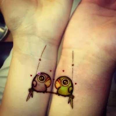 Tendências de Tatuagens de Casal