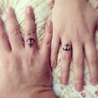 tattoo de casal