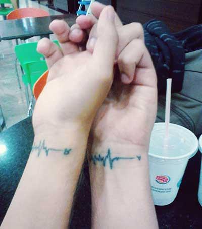 Tatuagens de Casal em Imagens