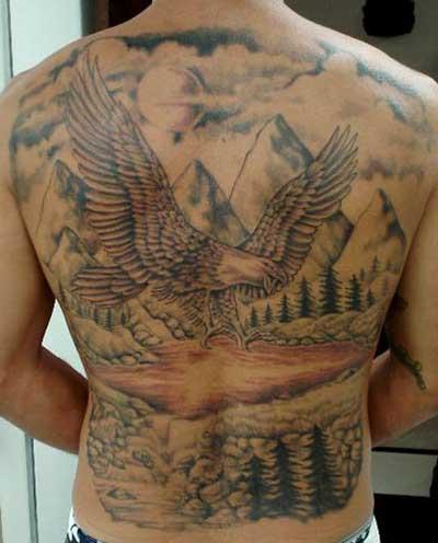 Tatuagens De águia Feminina E Masculina Desenhos E Fotos