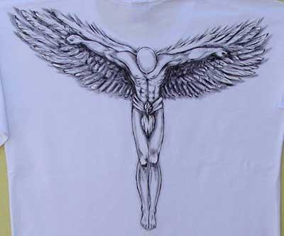 tatuagens de anjos inspiradoras
