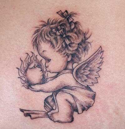 pequeno anjinho