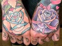 tattoos na mão