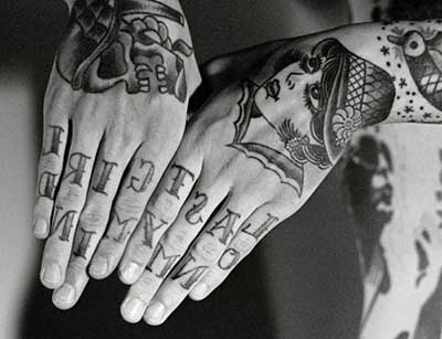 fotos de tattoos na mão