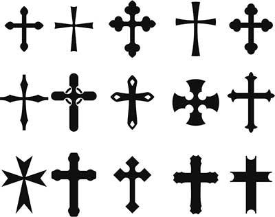 desenhos de cruz