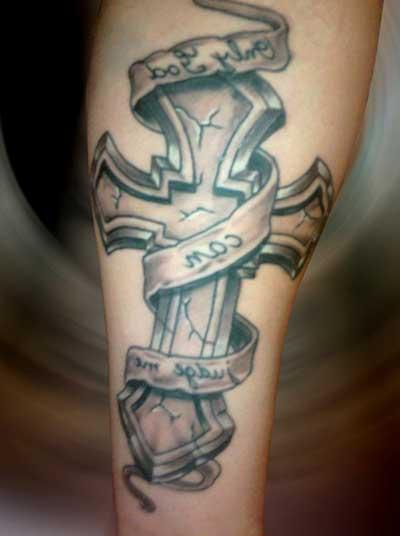 dicas de tatuagens de cruz