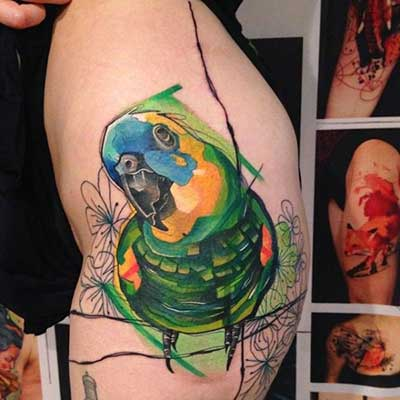 Tatuagens de Papagaio