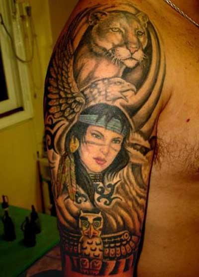 dicas de tatuagens de índias