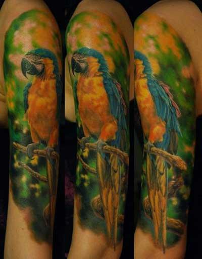 tattoo de pássaro