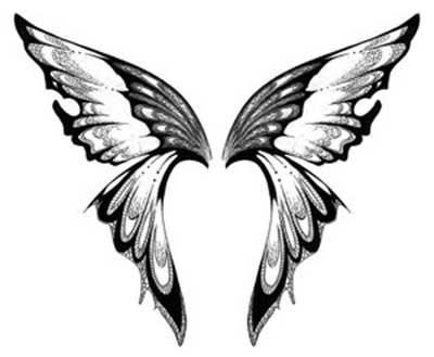 fotos de tatuagem de borboleta