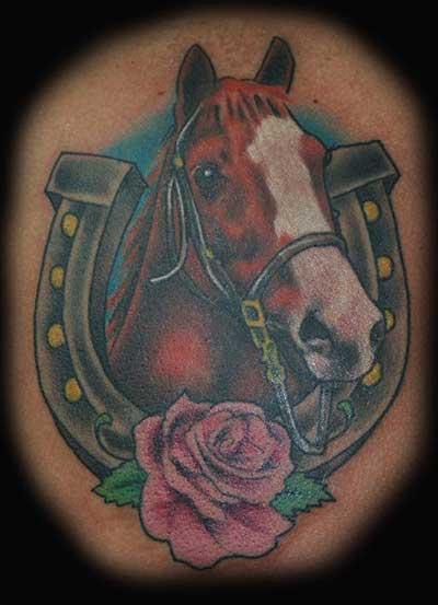 tattoo de cavalo