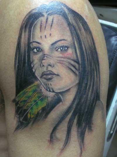 tattoos de índias