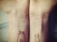 Fotos de Tattoos de Gatos