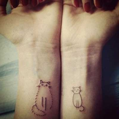 Fotos de Tattoos de Gatos