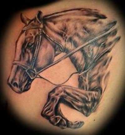 tattoos de cavalo