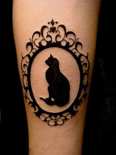 Imagens de Tattoos de Gatos