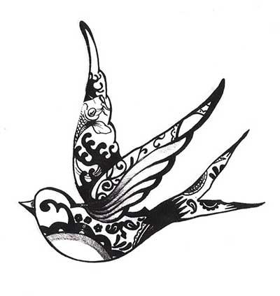 tatuagens de andorinha