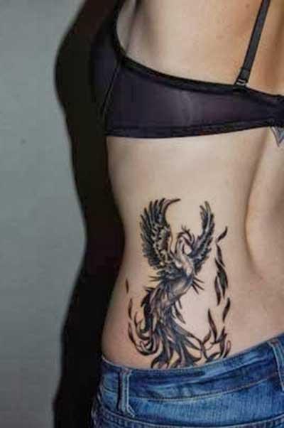 tatuagem de fênix