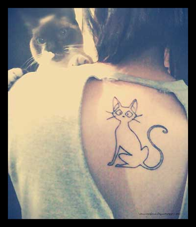 Dicas de Tatuagens de Gatos