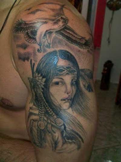 33 Tatuagens de Índias e Lobos: Significados, Fotos, Dicas