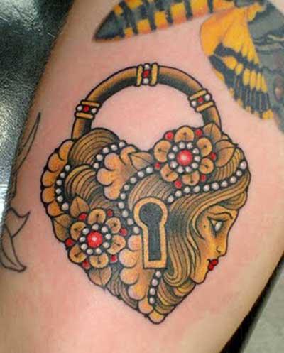 sugestões de tatuagens de coração