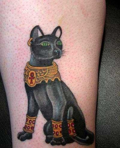 Sugestões de Tatuagens de Gatos