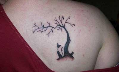 Fotos de Tatuagens de Gatos