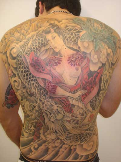 fotos de tatuagens de gueixas