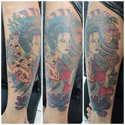 imagens de tatuagens de gueixas