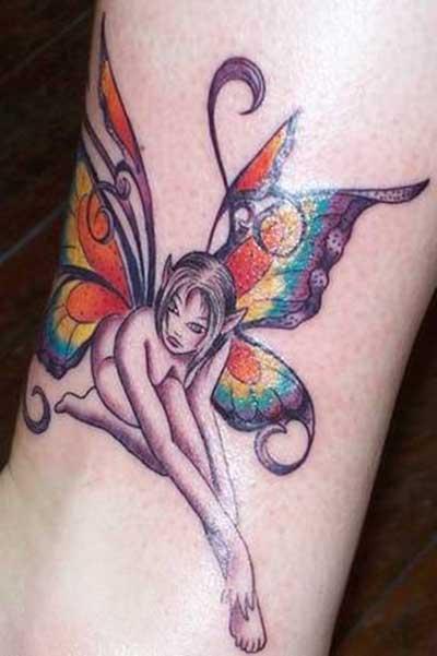 fotos de tatuagens de fadas