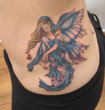 sugestões de tatuagens de fadas