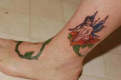 dicas de tatuagens de fadas
