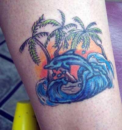 tatuagens de golfinhos